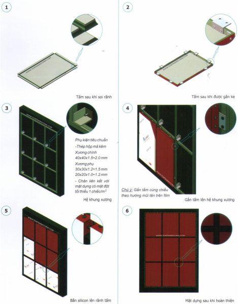 Hoàn thiện thành phẩm tấm alumix
