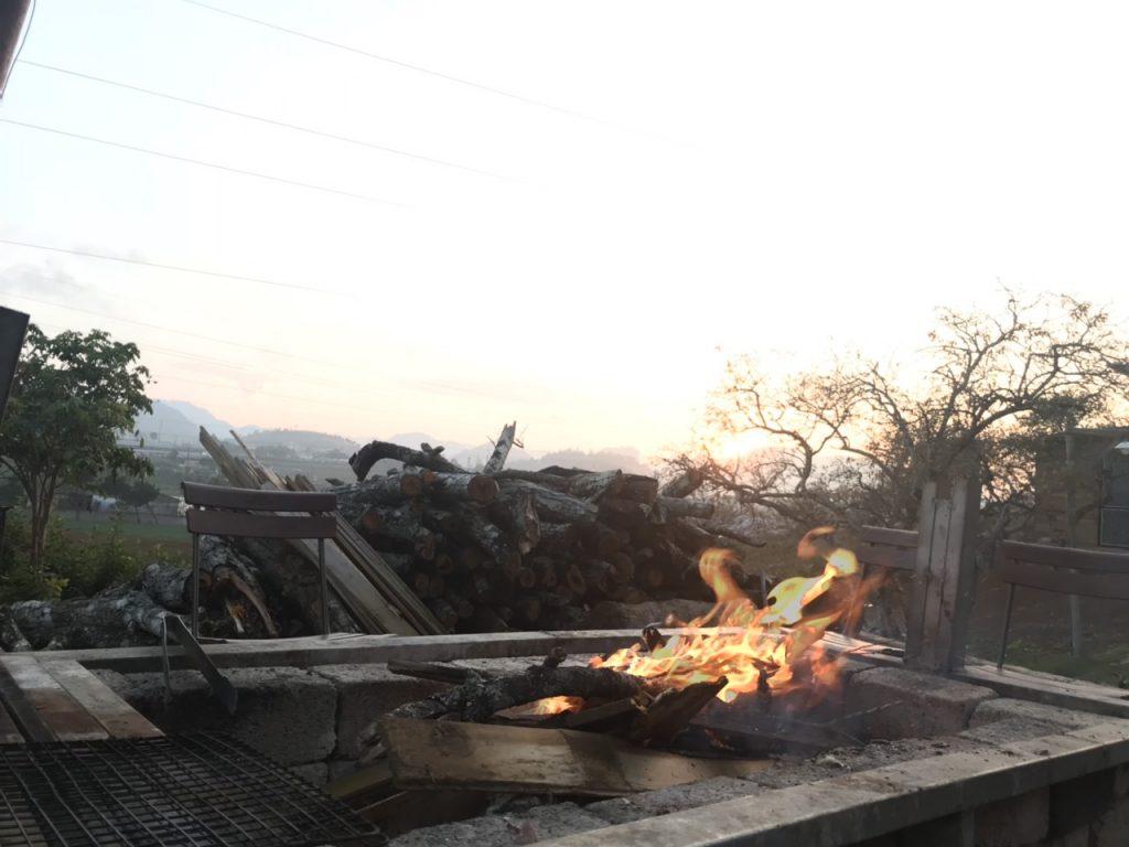 nhóm lửa trại