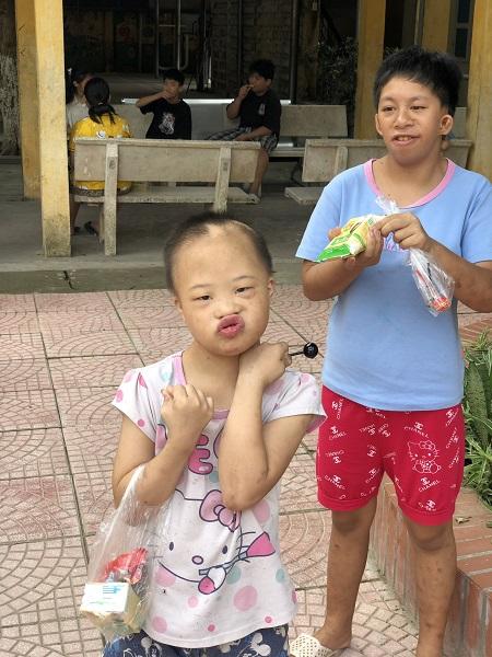 Thăm Trung Tâm Trẻ Khuyết Tật Hà Nội Nhân Dịp Tết Trung Thu 2020